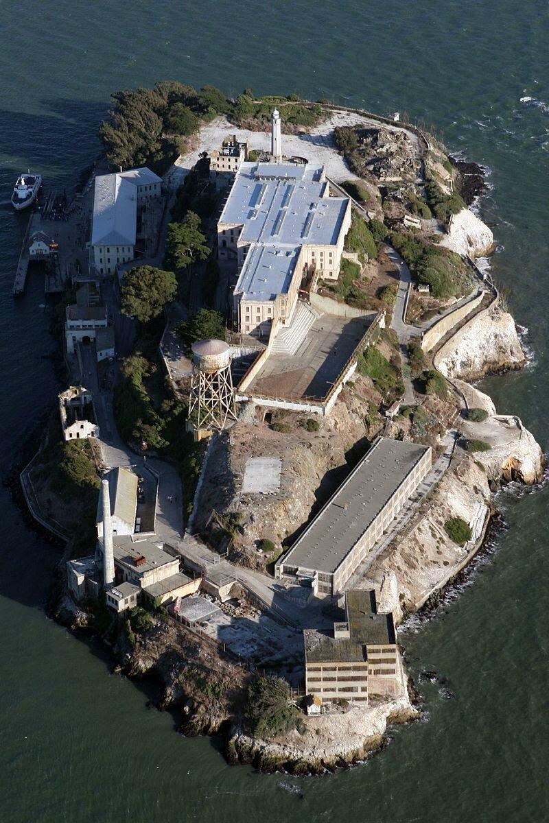 Visite de la célèbre prison d'Alcatraz à San Francisco