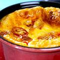 Clafoutis de tomates cerises et emmental