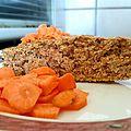 Tentative de gâteau à la carotte
