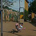 Mes filles J. et E., mai 2011