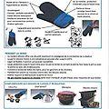 Fiche tupperware : manique silicone