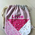 sac a dos bébé Livia