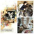 Cosy blog hop et challenge chez finnabair !