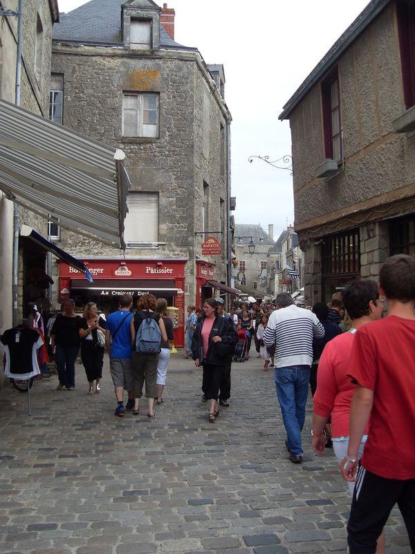 Dans les rues de Guérande