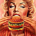 art - Marilyn par Syd Brack