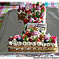 NUMBER <b>CAKE</b> AUX FRUITS ROUGES