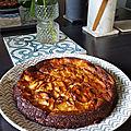 Slow down's kitchen - gâteau aux pommes invisible