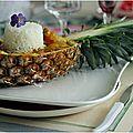 Idées festives viandes et poissons....