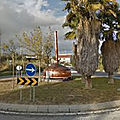 Rond-point à <b>Alverca</b> <b>Do</b> <b>Ribatejo</b> (Portugal)