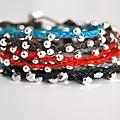 Un bracelet pour l'été chez braided irish linen wrap