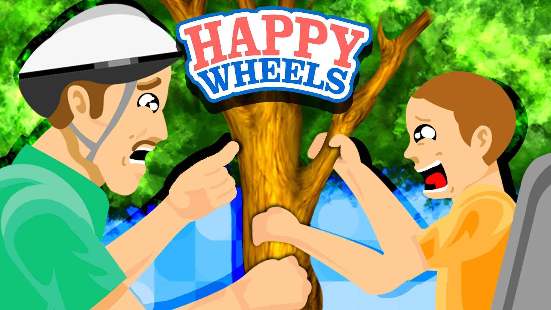 Happy Wheels : Jouer sur Mobile !