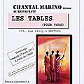 Le blog de Chantal Marino