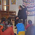Visite de daniel l'homond, le célèbre conteur périgourdin