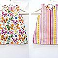 VENDUE Robe Trapèze Réversible <b>Bébé</b> 12-18 mois
