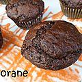 Muffins sans oeuf au chocolat