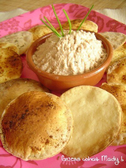 Rillettes de thon au parmesan