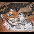 tigre aux pastels bretonini