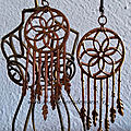 Pendentifs oreilles - Lot <b>Follow</b> <b>your</b> <b>dreams</b> - 2 projets