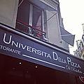 Universita della pizza (rebellato)