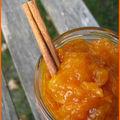 Confiture d'abricot allegee a l'agar-agar