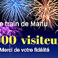 50 000 visiteurs ! Merci de votre fidélité