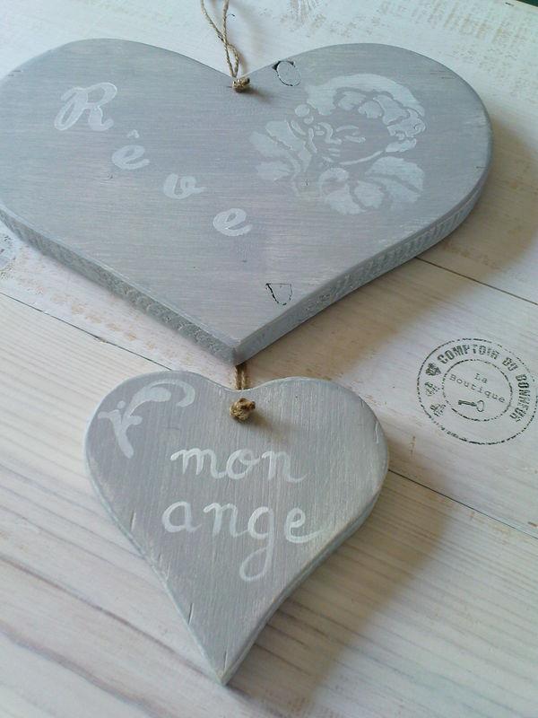 double coeur rêve mon ange
