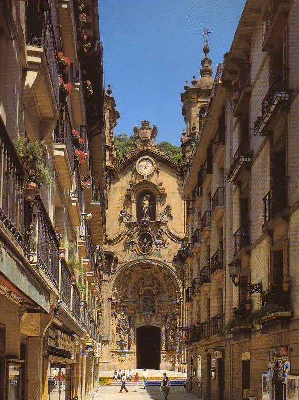 San Sebastian/Donostia, l'église ND Du Coro