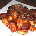 Gnocchis à la saucisse de montbéliard