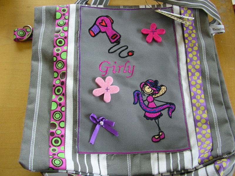 Sac trés girly !