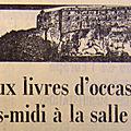 Foire aux livres de Belfort, les premières années (1972-1979)