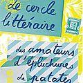 Le cercle littéraire des amateurs d'épluchures de patates d'annie barrows & mary ann shaffer, challenge les filles de mrs bennet