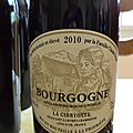 Claude dugat 2010 bourgogne rouge