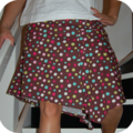 Ma première jupe à plis de pdc