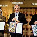 1995 - shimon peres va poursuivre les négociations de paix voulues par itzhak rabin
