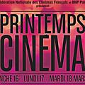 Du 16 au 18 mars, c'est le printemps du cinéma !!