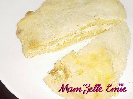 Cheese nan (specialité indienne)