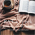 Suivi rat a week winter edition & lecture commune