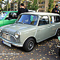 Morris mini minor traveller de 1964 (Retrorencard octobre 2011) 01