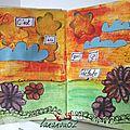 Art journal (voyage en suisse et russie)