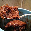 Brownie fondant individuel au micro onde
