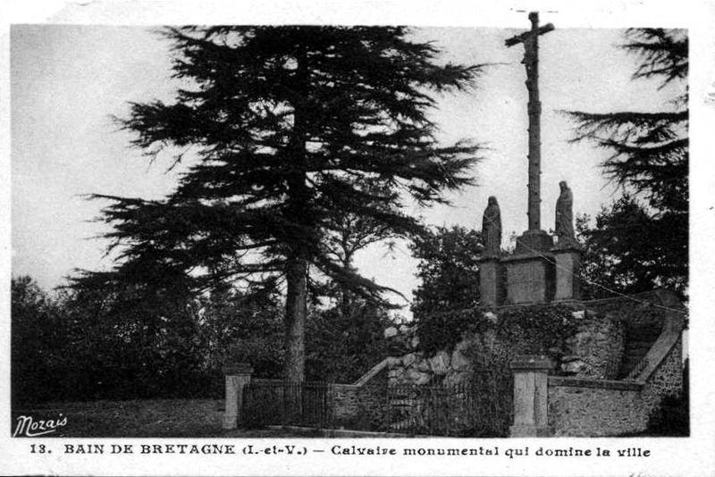 Bain de Bretagne, le Calvaire de Berthaud