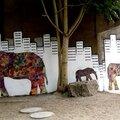 street art : les éléphants nantais