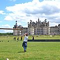 Cabers flying in Chambord: what a shot!