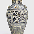A rare massive blue and white storage jar, Lê dynasty, <b>15th</b>-<b>16th</b> <b>century</b>