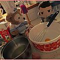 Petit Chef donne des cours de cuisine à Castiel
