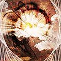 sunny explosion background