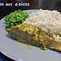 Saumon aux epices