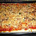 Pizza au thon et anchois