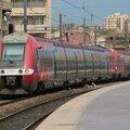 AGC Z 27500 (601/602) Languedoc-Roussillon, gare de Marseille