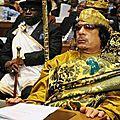 RAPPEL HISTORIQUE SUR LA FIN TRAGIQUE DE MOUAMAR EL <b>KADHAFI</b> LE LEADER SHIP DE L'AFRIQUE EN <b>LIBYE</b>